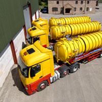 Liquid waste tankering service